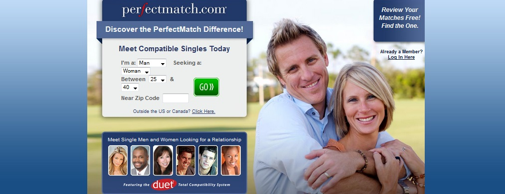 Perfect dating site