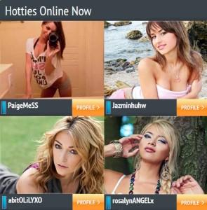 JustMyHookups profiles