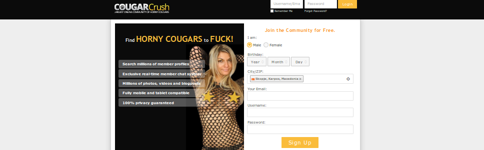 cougar crush