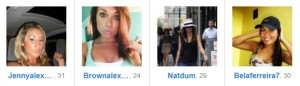 xSocial profiles