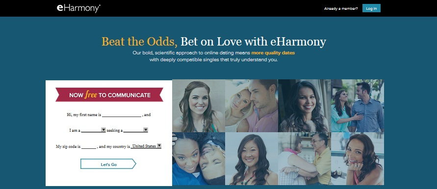 Eharmony dating agency