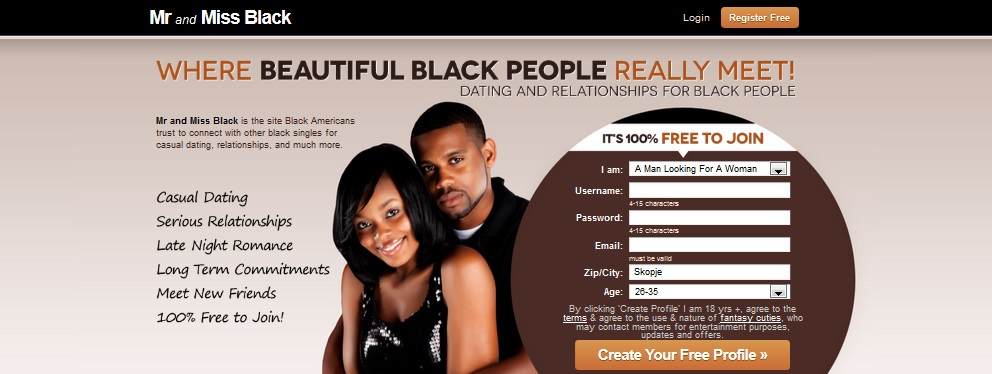 mr and miss black