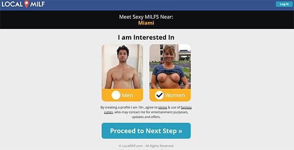 Milf site web