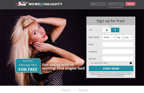 Naughty online dating sites