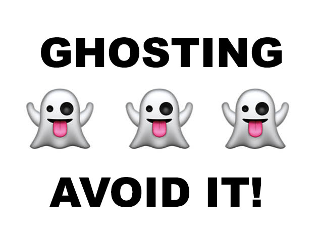 what does ghosting mean