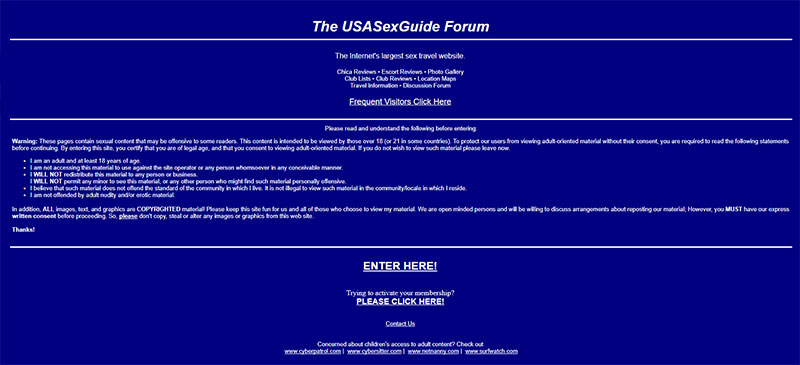 USASexGuide Reviews