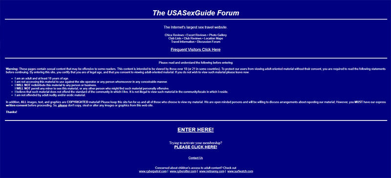 usasexguide review