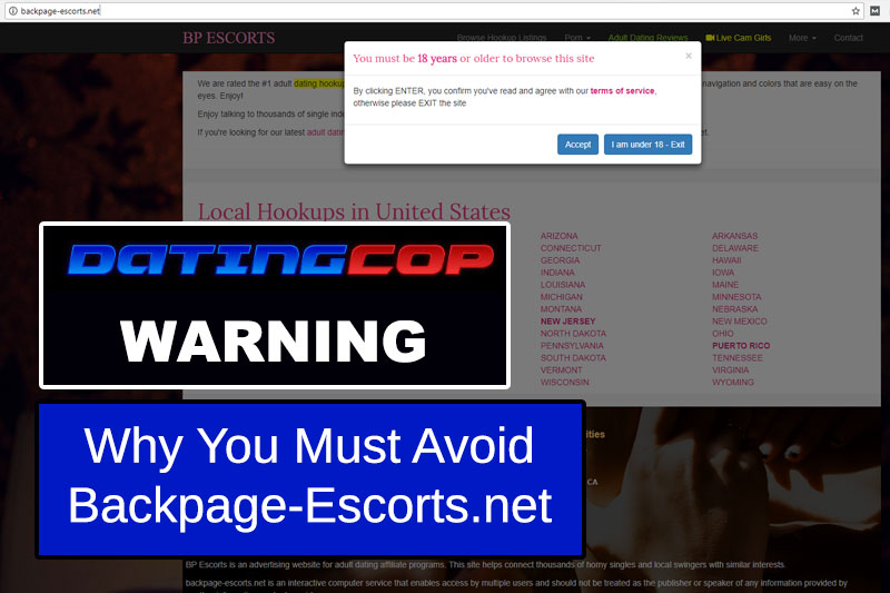 Backpage-Escorts.net Site Review