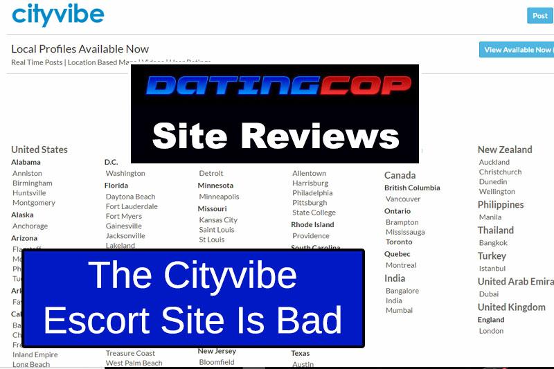 CityVibe.com escort site