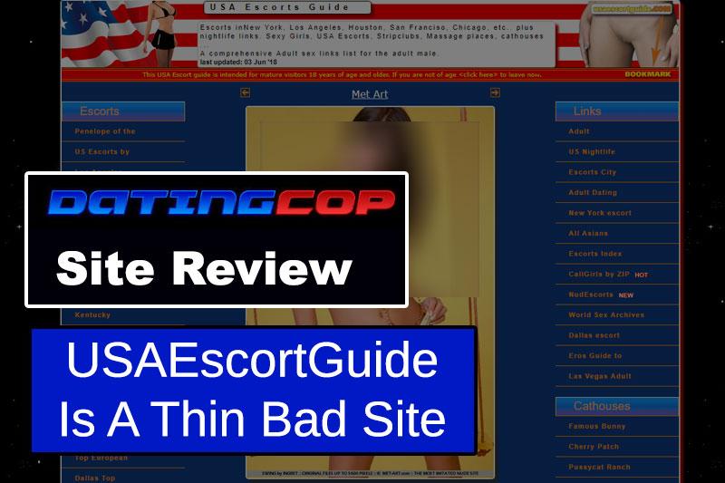 usa escort guide review