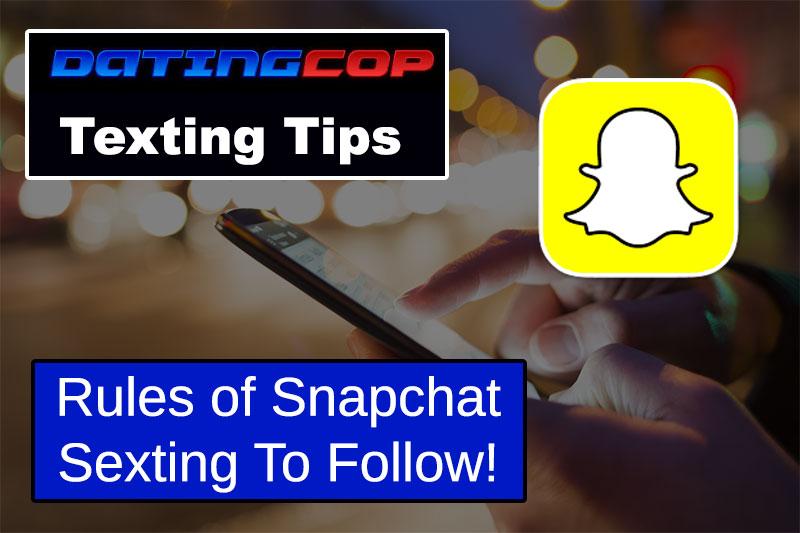 snapchat sexting tips