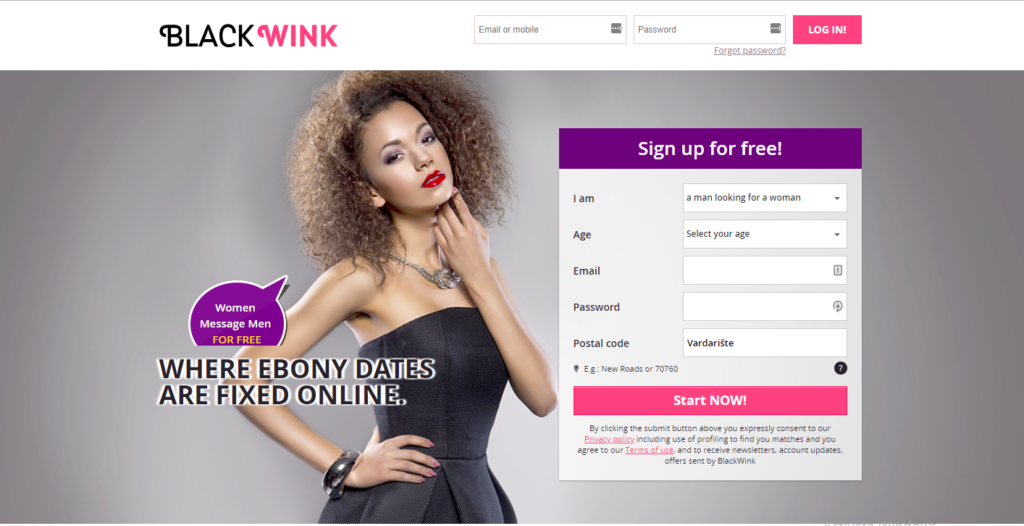 Blackwink.com Review screenshot