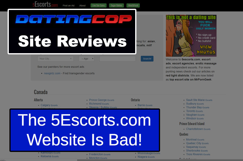 5Escorts Website Review