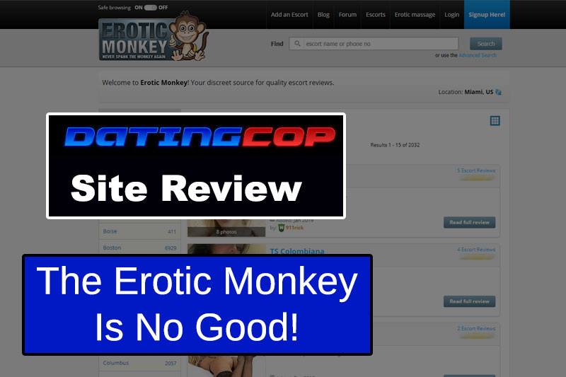 erotic monkey homepage