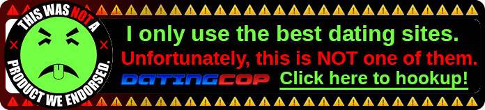 Datingcop bad hookup sites banner