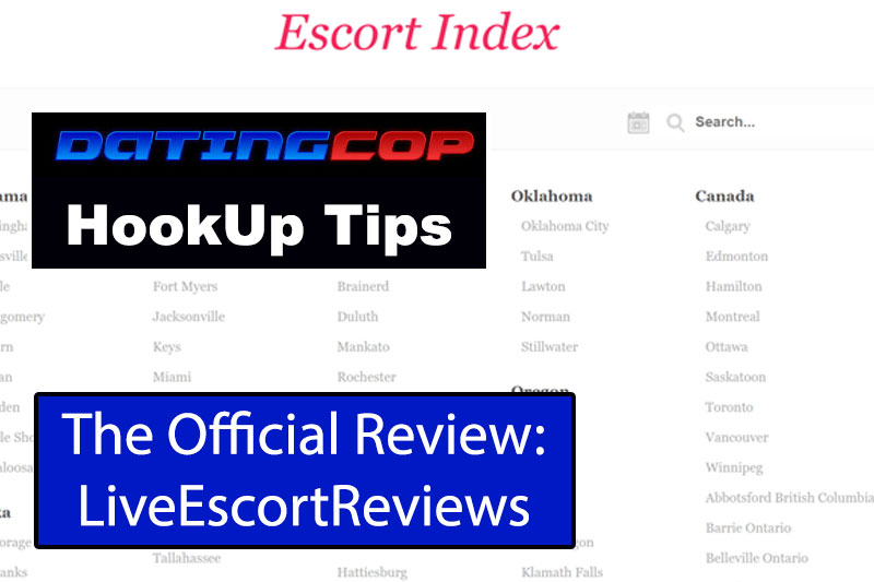 Live Escort Reviews Homepage